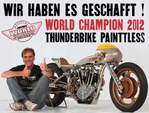 Thunderbike Painttles World Champion 2012