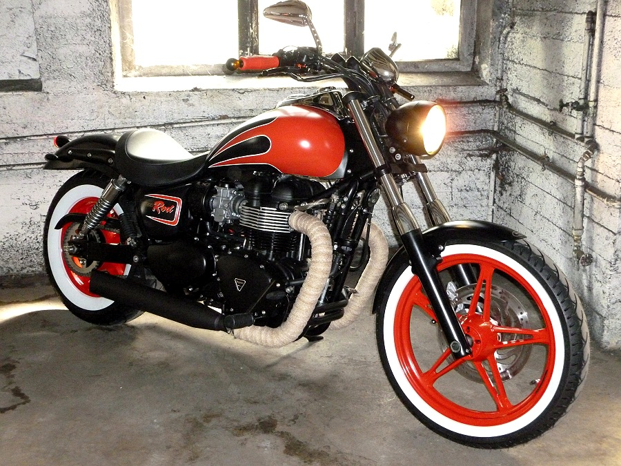 Triumph Speed Rod von SBF