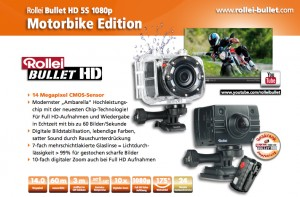 Actioncam Rollei Bullet HD 5S Motorbike Edition