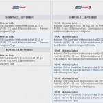 Eurosport Sendezeiten SBK-WM Portimao 2012