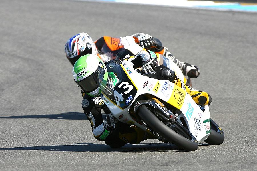 IDM Moto3 Meister 2012 Luca Grünwald