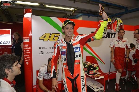 Valentino Rossi - © Ducati