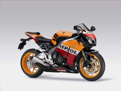 Honda Fireblade im Repsol-Design