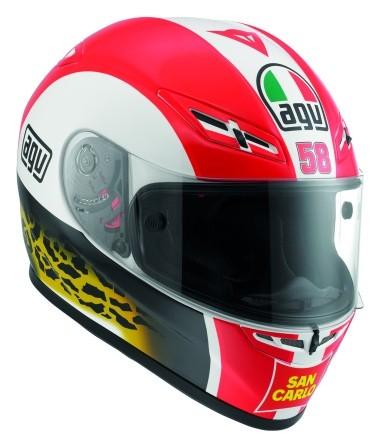 AGV Marco Simoncelli Tribute Helm
