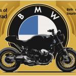 BMW Boxer Skizze