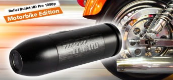 Rollei Bullet HD Pro 1080p Motorbike Edition
