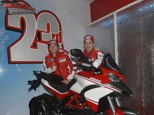 Andrea Dovizioso Nicky Hayden © Ducati