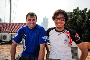 Rico Penzkofer und Matsushita Yoshinari