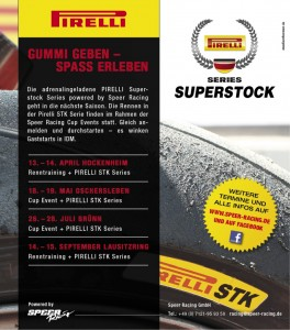 Speer Racing: Pirelli STK Series