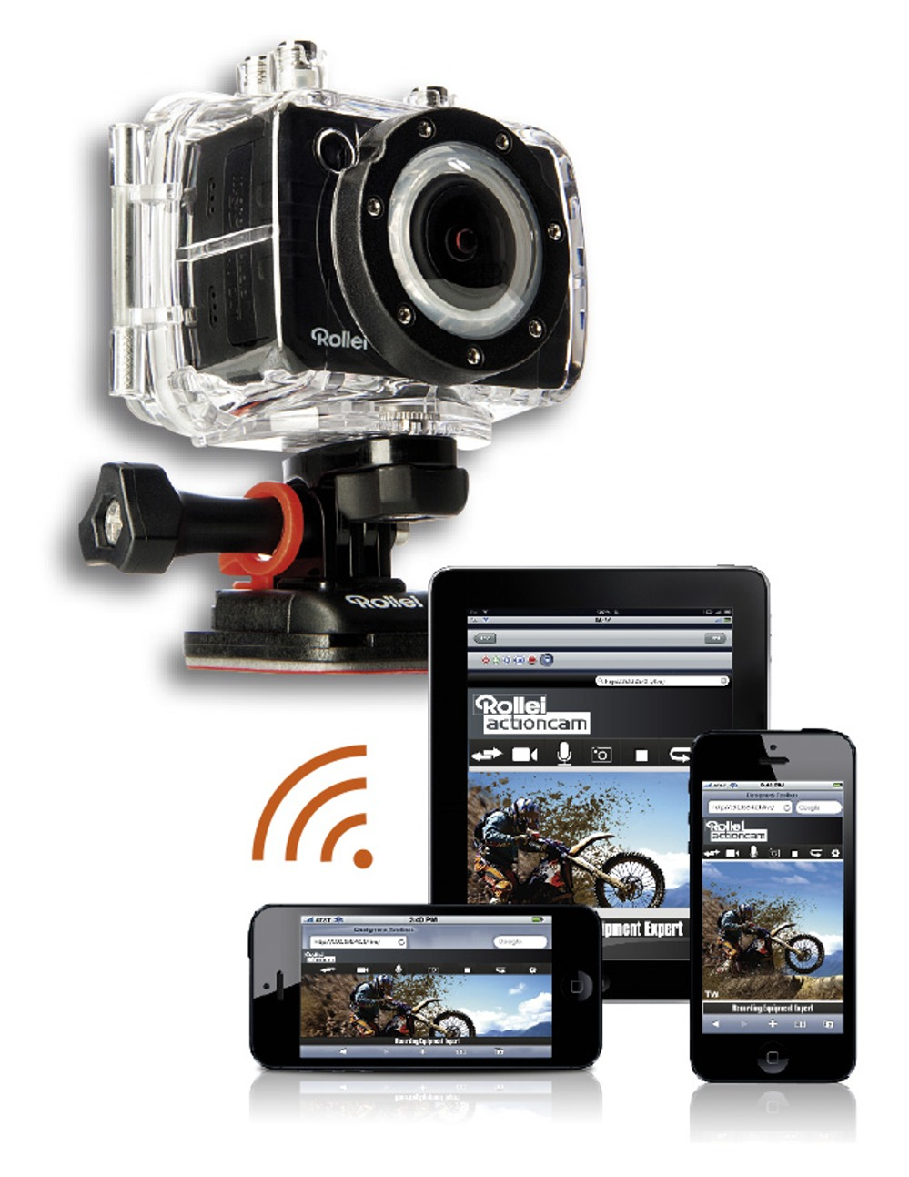 rollei actioncam 5s wifi in zwei wahnsinns editionen. Black Bedroom Furniture Sets. Home Design Ideas