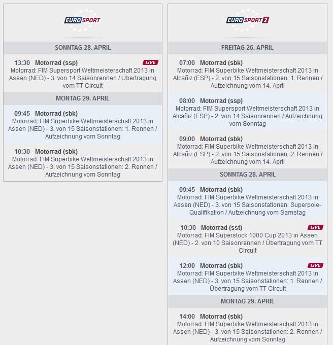 © www.eurosport.de – Sendezeiten Europort (anklicken zum vergrößern)