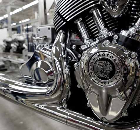 2014 Indian Motorcycle Engine