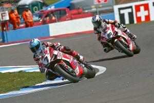 Carlos Checa, Ayrton Badovini © Ducati