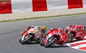 Andrea Iannone, Nicky Hayden, Andrea Dovizioso - © Pramac
