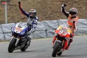 Jorge Lorenzo, Marc Marquez © Yamaha