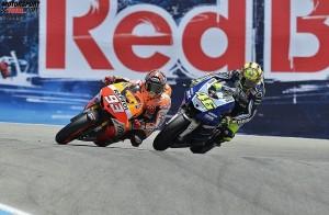 Valentino Rossi, Marc Marquez © Yamaha