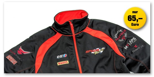 Speer Racing Softshell Jacke