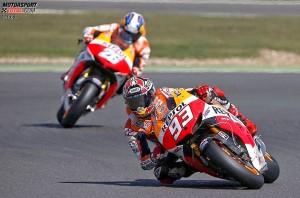 Marc Marquez, Daniel Pedrosa © Honda