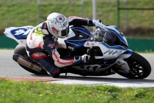 © Fast-Moments.com - Senior-Champion Martin Mattivi auf seiner BMW in Brno
