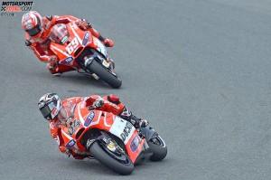 Nicky Hayden, Andrea Dovizioso - © Ducati