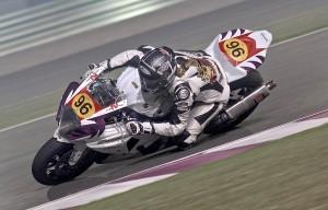 Nina Prinz: Katar Superbike Meisterschaft Losail