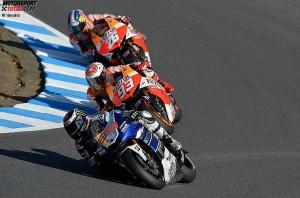 Jorge Lorenzo, Marc Marquez, Daniel Pedrosa © Yamaha