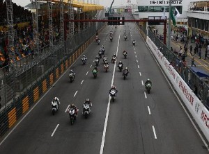 Macao Start © Saiger Racing