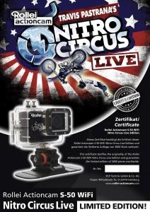 Rollei Actioncam S-50 Nitro Circus Edition