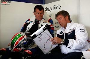 Troy Corser © BMW Motorrad
