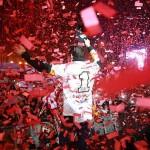 Marc Marquez, Cervera, WM-Party, Empfang