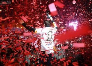 Marc Marquez, Cervera, WM-Party, Empfang © Repsol