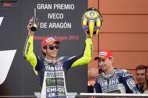 Jorge Lorenzo, Valentino Rossi © Yamaha