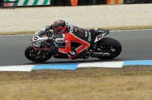 Sylvain Guintoli © Aprilia Racing