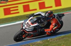 © Aprilia Racing - Sylvain Guintoli fuhr seine Aprilia im ersten Rennen in Assen als Sieger ins Ziel