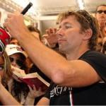 © Ducati - Ex-Champion Troy Bayliss wird es mit der Zeit etwas langweilig