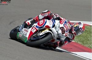 © Pata Honda - Jonathan Rea legte auf seiner Honda in Imola einen Start-Ziel-Sieg hin