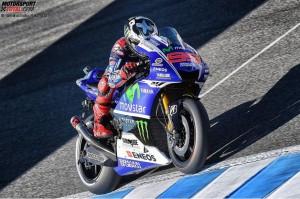 © Yamaha Motor Racing Srl - Bei Jorge Loreno läuft derzeit nicht alles nach Plan