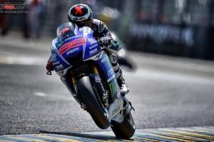 © Yamaha Motor Racing Srl - Jorge Lorenzo ist derzeit nicht in gewohnt starker Form unterwegs