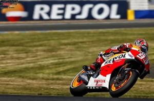 © Repsol Media - Marc Marquez war auch in Le Mans wieder zu schnell für die Konkurrenten