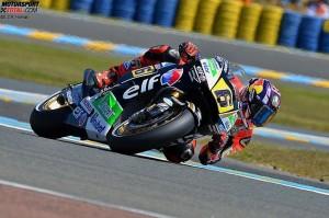 © LCR-Honda - Stefan Bradl ist mit dem siebten Platz nicht zufrieden