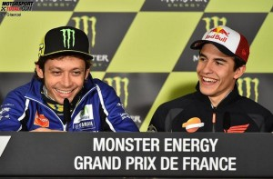 © FGlaenzel - Altmeister Valentino Rossi lobt die Leistungen von WM-Leader Marc Marquez