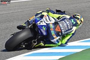 © FGlaenzel - Valentino Rossi brachte seinen zweiten zweiten Platz in dieser Saison ins Ziel