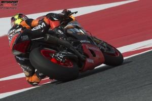 """© Forward Racing - Aleix Espargaro nutzte seinen """"Joker"""" für eine schnelle Runde perfekt"""