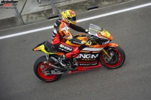 © Forward Racing - Pole-Position für Aleix Espargaro: Das Risiko hat sich ausgezahlt