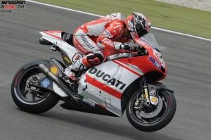 © Ducati - Andrea Dovizioso ging in der Fahrer- wertung wieder an Jorge Lorenzo vorbei