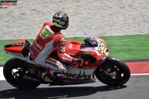 © Ducati - Cal Crutchlow bedauert, dass Stefan Bradl wegen seinem Sturz ausgeschieden ist