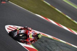 © Ducati - Cal Crutchlow hat mit dem Fahrverhalten der Ducati seine Mühe