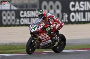 © Ducati - Davide Giugliano ist auch in Misano über eine Runde sehr schnell