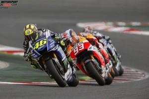 © Repsol - Valentino Rossi war in Barcelona stark unterwegs und freut sich über Platz zwei