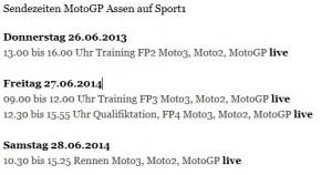 Sport1 Assen
